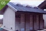 シャワー棟(温水:コイン式×3)