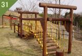 木製吊り橋